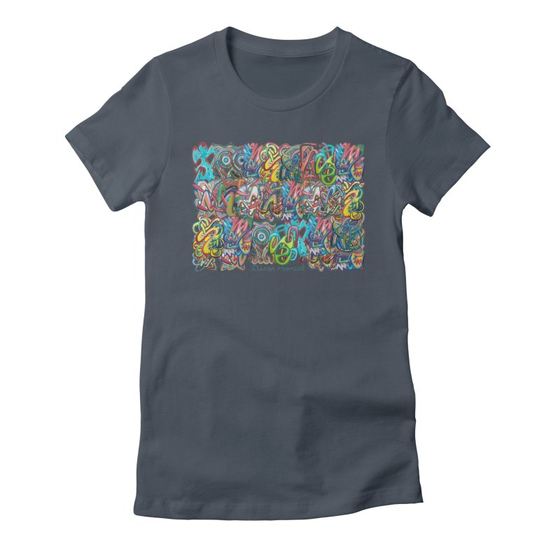 Graffiti 2 Women's T-Shirt by Diego Manuel Rodriguez Artist Shop
