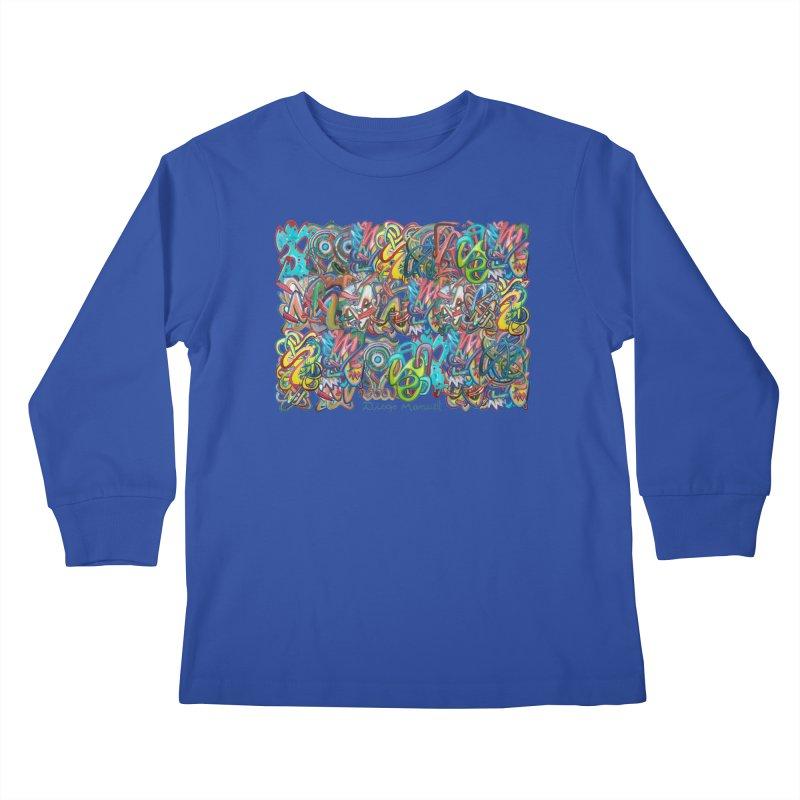 Graffiti 2 Kids Longsleeve T-Shirt by diegomanuel's Artist Shop