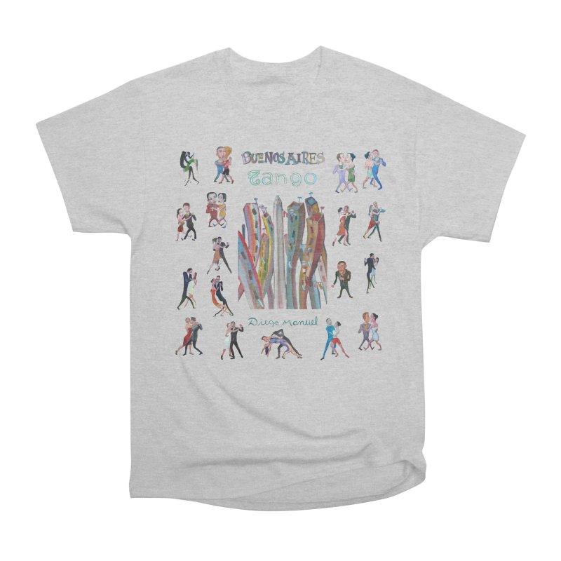 Buenos Aires tango 7 Men's T-Shirt by Diego Manuel Rodriguez Artist Shop