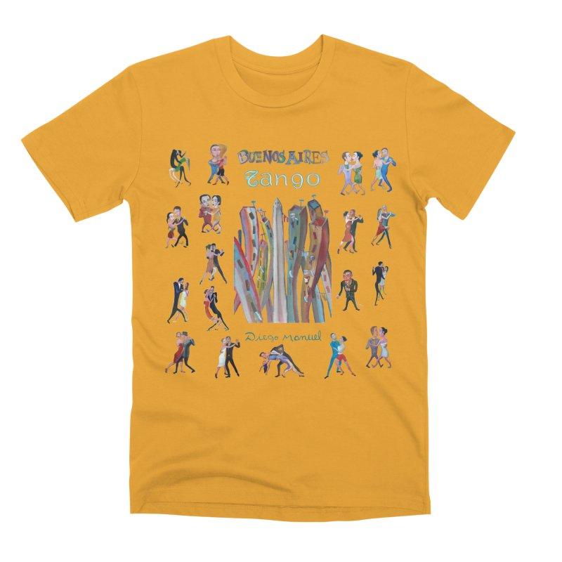 Buenos Aires tango 7 Men's Premium T-Shirt by diegomanuel's Artist Shop