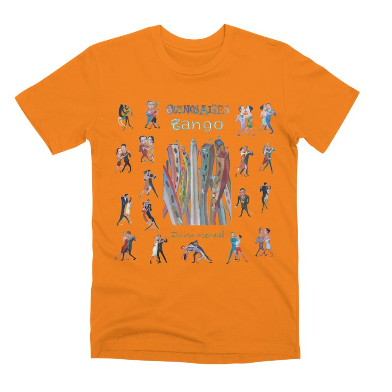 Buenos Aires tango 7 Men's T-Shirt by Diego Manuel Rodriguez Artist Shop