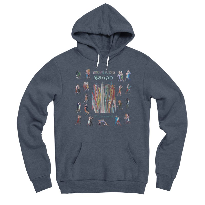 Buenos Aires tango 7 Men's Pullover Hoody by Diego Manuel Rodriguez Artist Shop