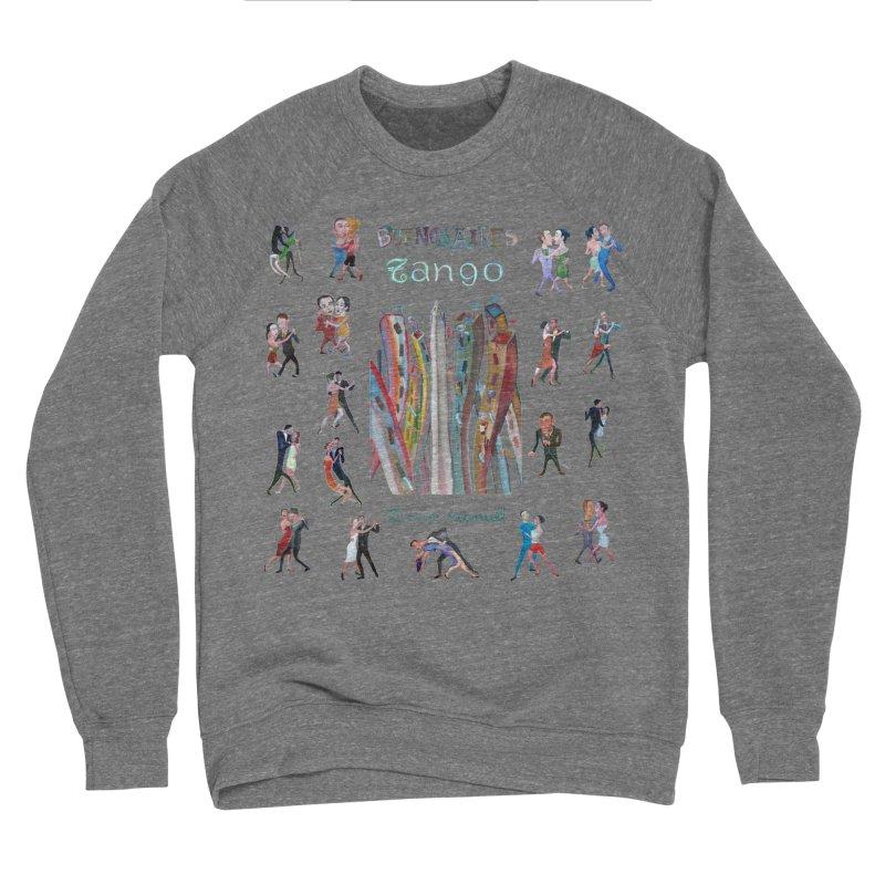 Buenos Aires tango 7 Men's Sponge Fleece Sweatshirt by diegomanuel's Artist Shop