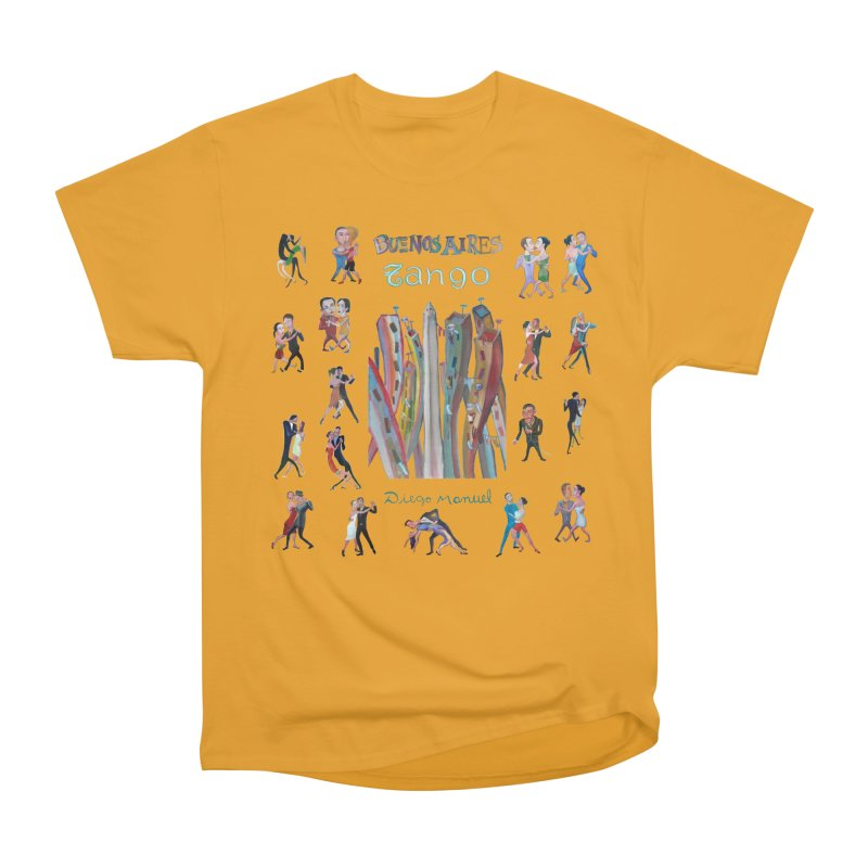 Buenos Aires tango 7 Women's Heavyweight Unisex T-Shirt by diegomanuel's Artist Shop
