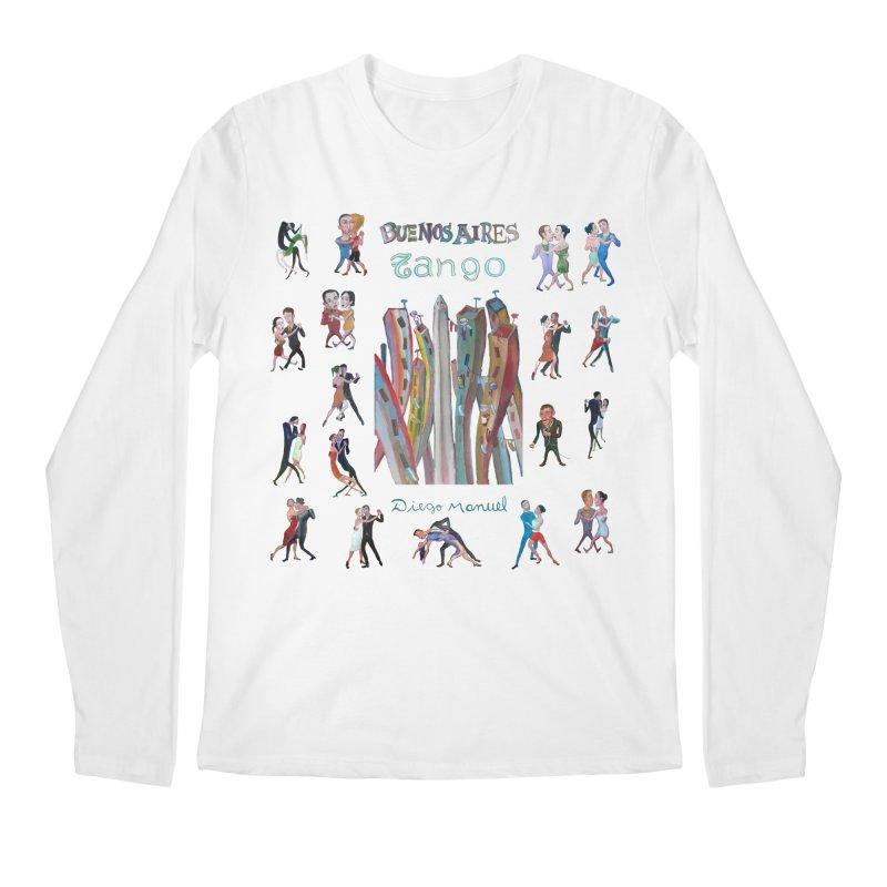Buenos Aires tango 7 Men's Regular Longsleeve T-Shirt by diegomanuel's Artist Shop
