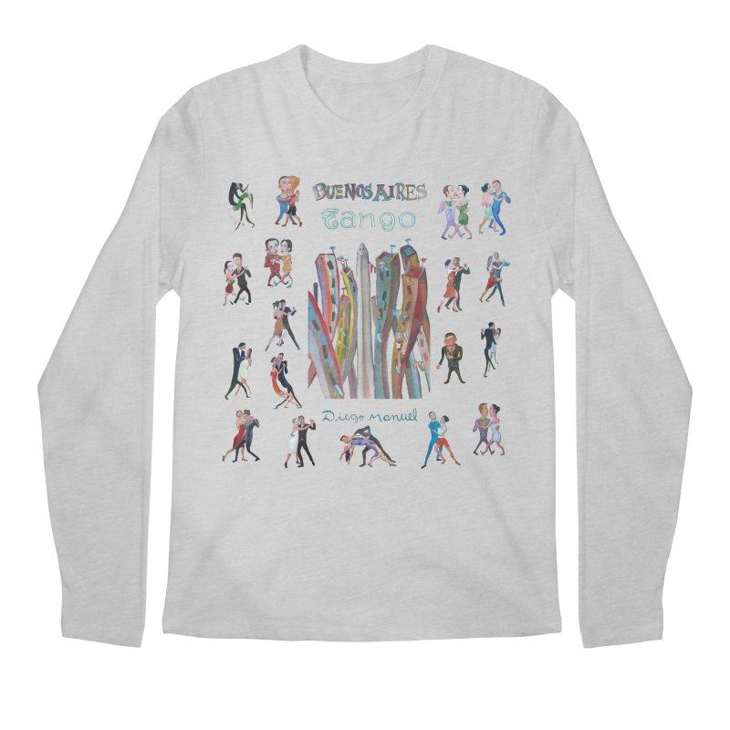 Buenos Aires tango 7 Men's Longsleeve T-Shirt by Diego Manuel Rodriguez Artist Shop