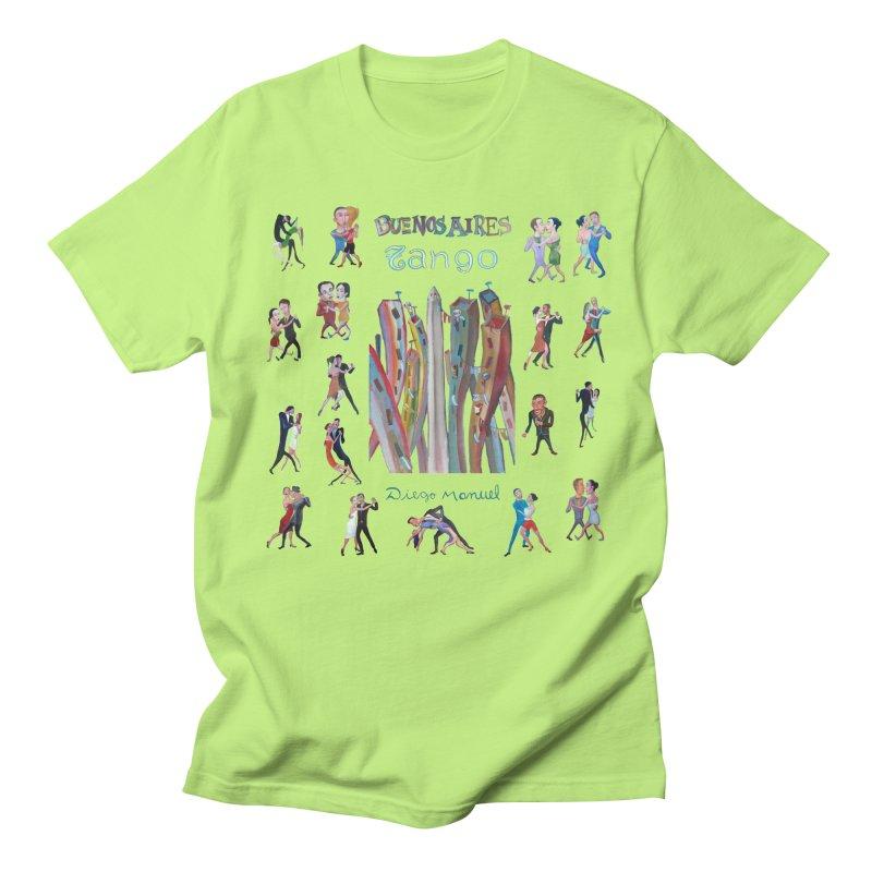 Buenos Aires tango 7 Women's Regular Unisex T-Shirt by diegomanuel's Artist Shop