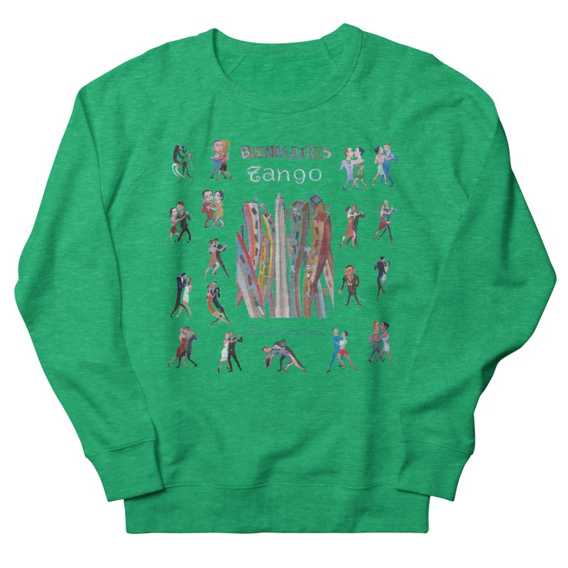 Buenos Aires tango 7 Women's French Terry Sweatshirt by diegomanuel's Artist Shop