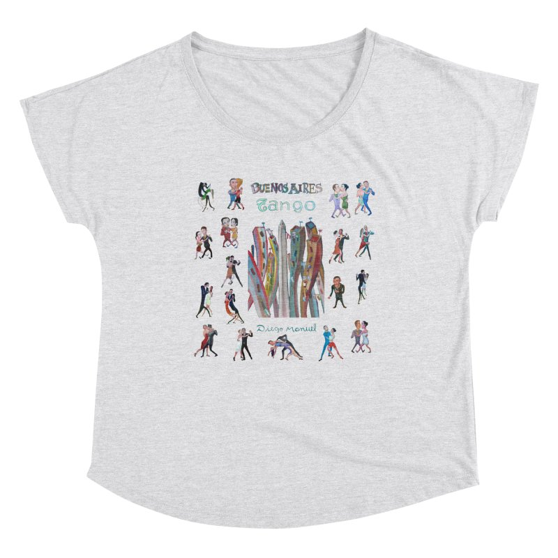 Buenos Aires tango 7 Women's Dolman Scoop Neck by diegomanuel's Artist Shop