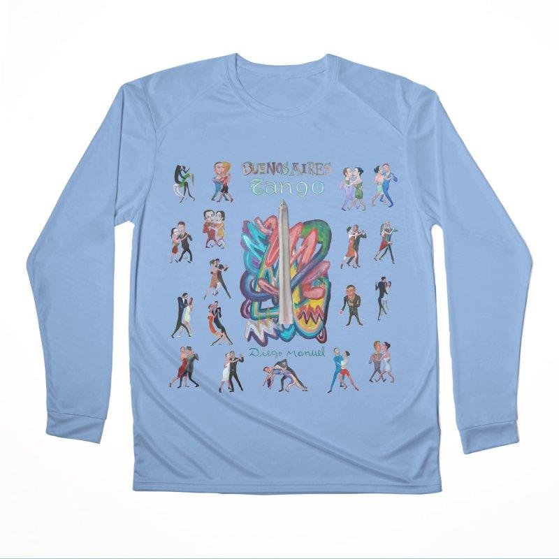 Buenos Aires tango 6 Men's Longsleeve T-Shirt by Diego Manuel Rodriguez Artist Shop