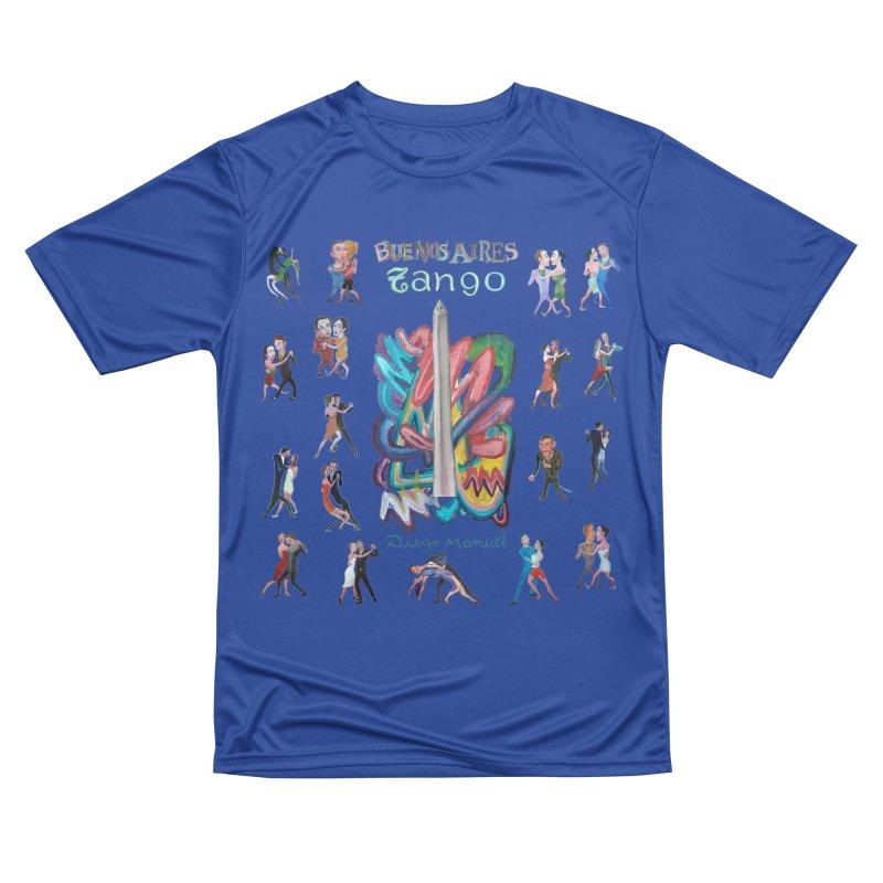 Buenos Aires tango 6 Men's Performance T-Shirt by diegomanuel's Artist Shop
