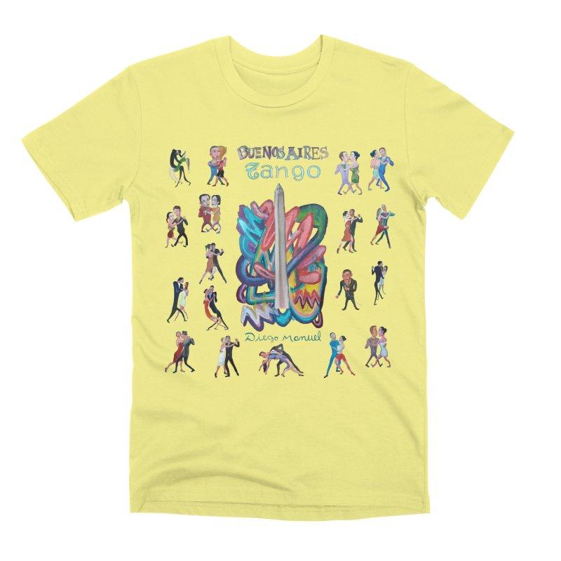 Buenos Aires tango 6 Men's Premium T-Shirt by diegomanuel's Artist Shop