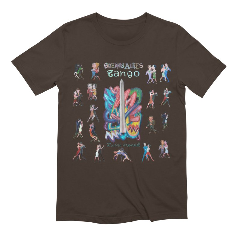 Buenos Aires tango 6 Men's Extra Soft T-Shirt by diegomanuel's Artist Shop