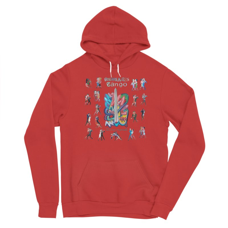 Buenos Aires tango 6 Women's Pullover Hoody by Diego Manuel Rodriguez Artist Shop