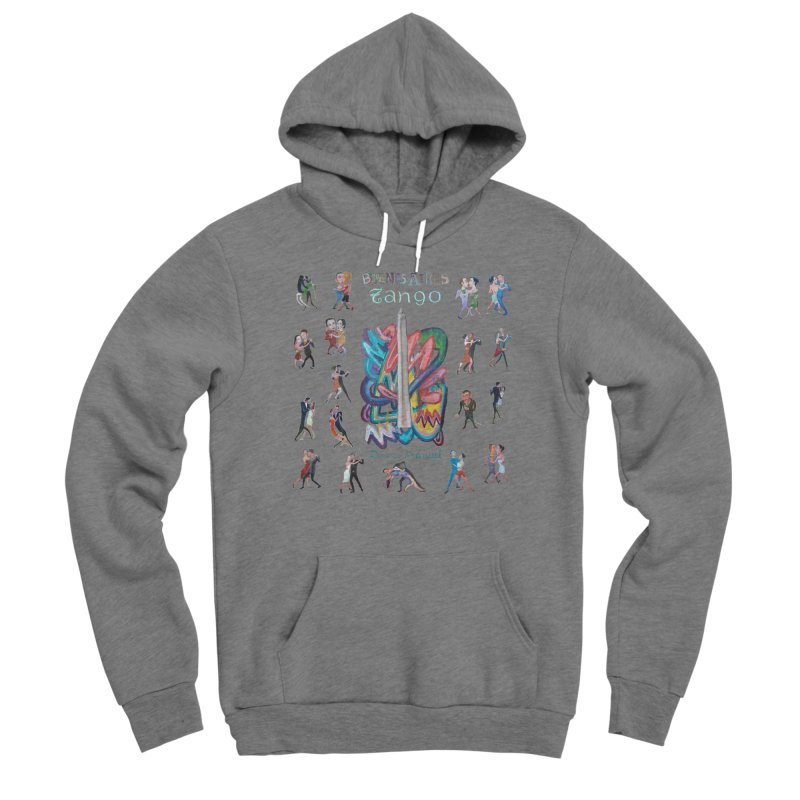 Buenos Aires tango 6 Men's Pullover Hoody by Diego Manuel Rodriguez Artist Shop