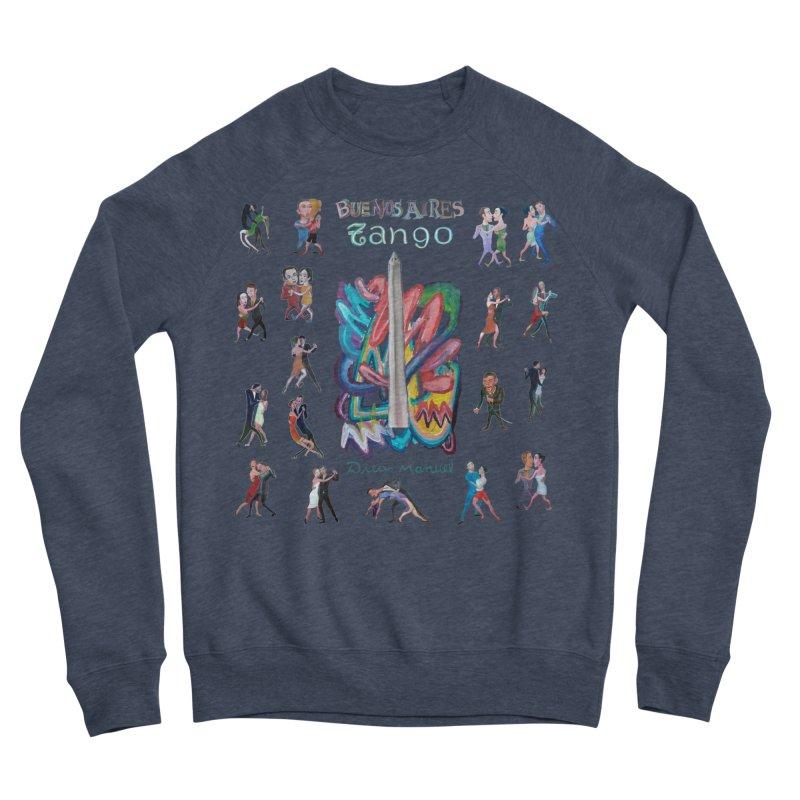 Buenos Aires tango 6 Women's Sponge Fleece Sweatshirt by diegomanuel's Artist Shop