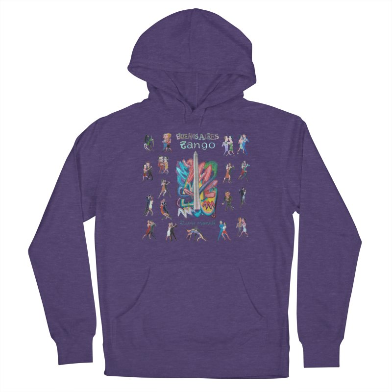 Buenos Aires tango 6 Women's French Terry Pullover Hoody by diegomanuel's Artist Shop