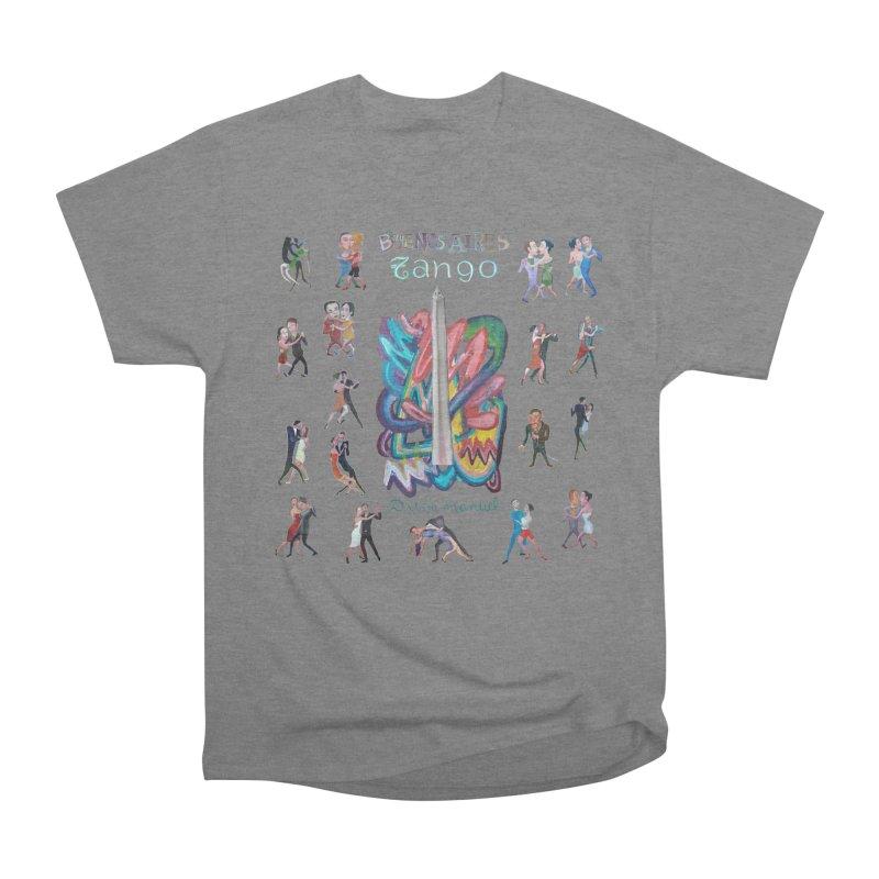 Buenos Aires tango 6 Men's Heavyweight T-Shirt by diegomanuel's Artist Shop