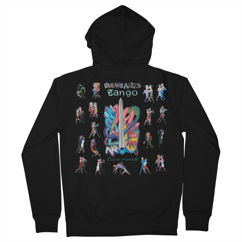 Buenos Aires tango 6 Men's French Terry Zip-Up Hoody by diegomanuel's Artist Shop