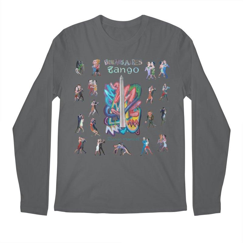 Buenos Aires tango 6 Men's Longsleeve T-Shirt by diegomanuel's Artist Shop