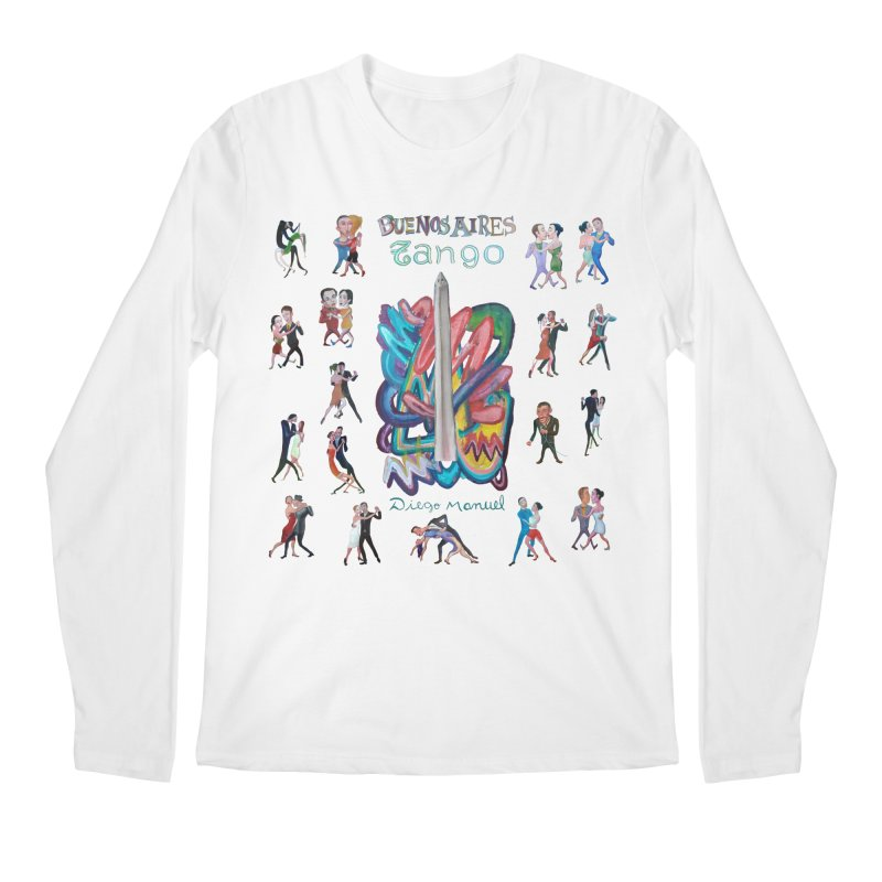 Buenos Aires tango 6 Men's Longsleeve T-Shirt by Diego Manuel Rodriguez Artist Shop