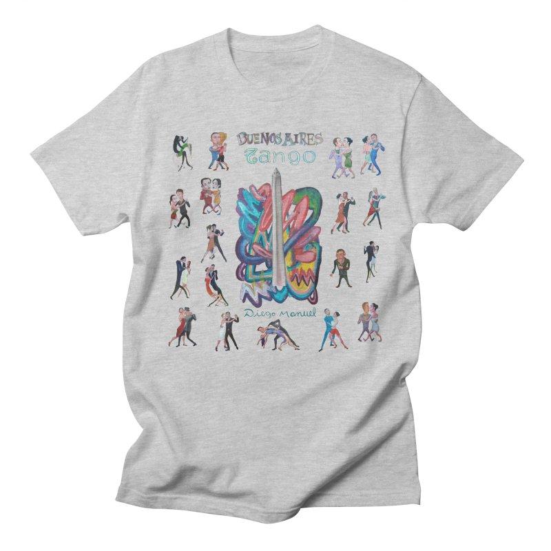 Buenos Aires tango 6 Women's Regular Unisex T-Shirt by diegomanuel's Artist Shop
