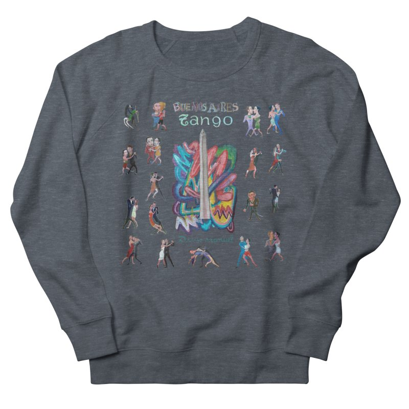 Buenos Aires tango 6 Women's French Terry Sweatshirt by diegomanuel's Artist Shop