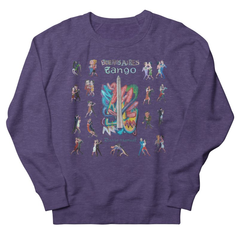Buenos Aires tango 6 Men's French Terry Sweatshirt by diegomanuel's Artist Shop