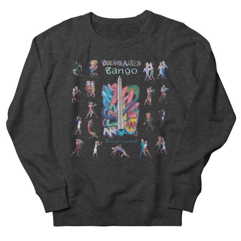 Buenos Aires tango 6 Men's French Terry Sweatshirt by diegomanuel's Artist Shop