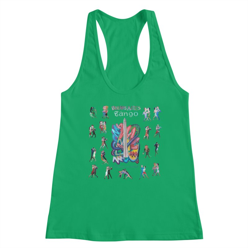 Buenos Aires tango 6 Women's Tank by Diego Manuel Rodriguez Artist Shop