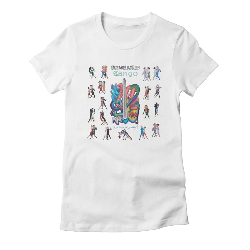 Buenos Aires tango 6 Women's T-Shirt by Diego Manuel Rodriguez Artist Shop