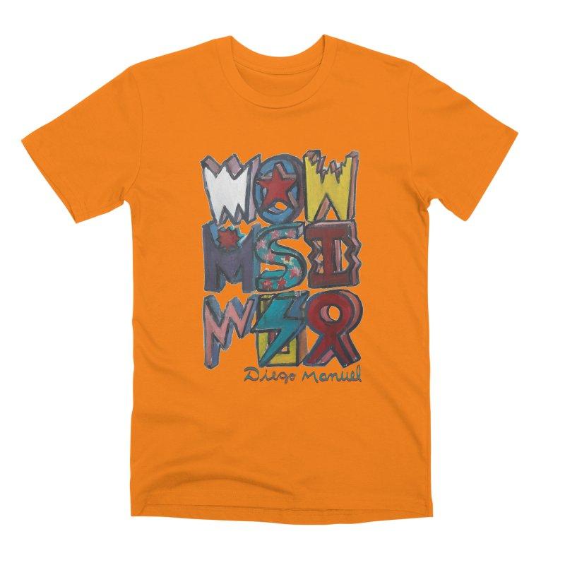 Graffiti 2020 1 Men's T-Shirt by Diego Manuel Rodriguez Artist Shop