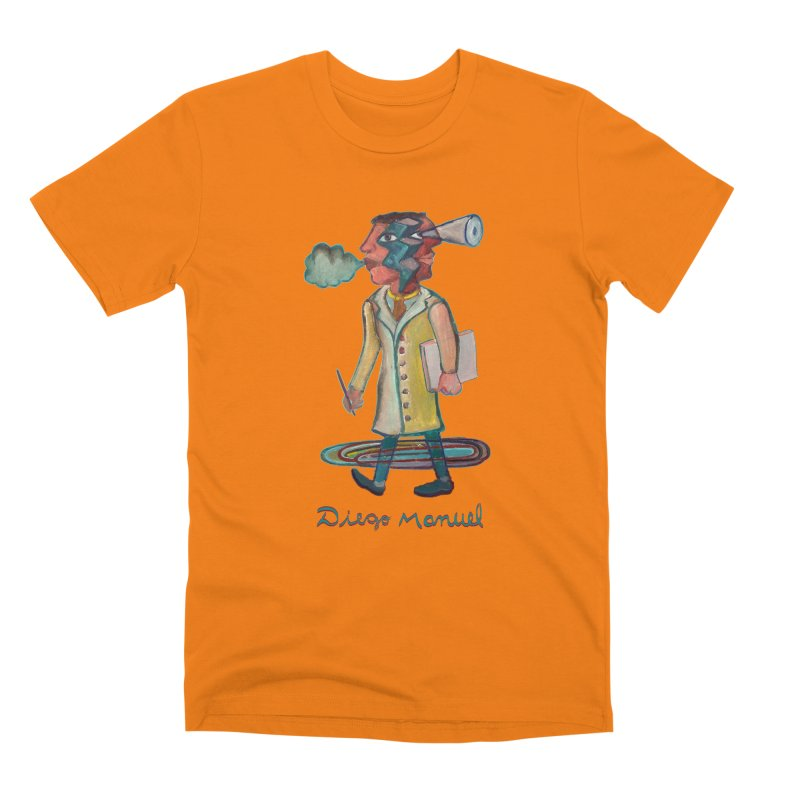 The painter 9,  People of the neighborhood Men's T-Shirt by Diego Manuel Rodriguez Artist Shop