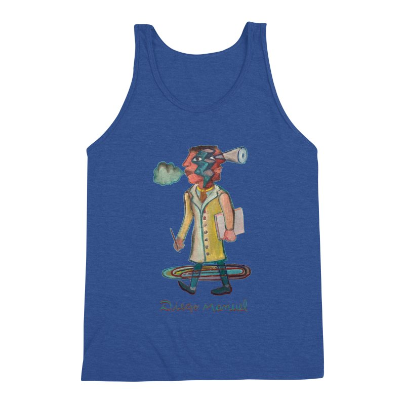 The painter 9,  People of the neighborhood Men's Tank by Diego Manuel Rodriguez Artist Shop