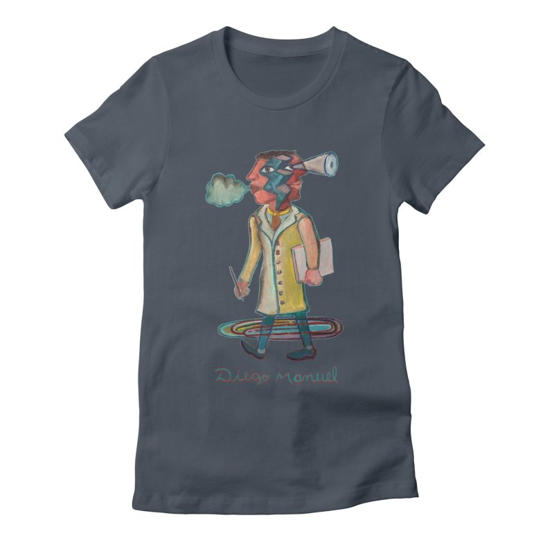 The painter 9,  People of the neighborhood Women's T-Shirt by Diego Manuel Rodriguez Artist Shop