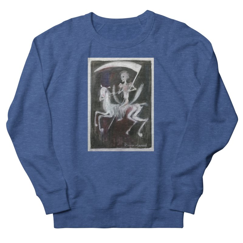 The death 3 Men's Sweatshirt by Diego Manuel Rodriguez Artist Shop