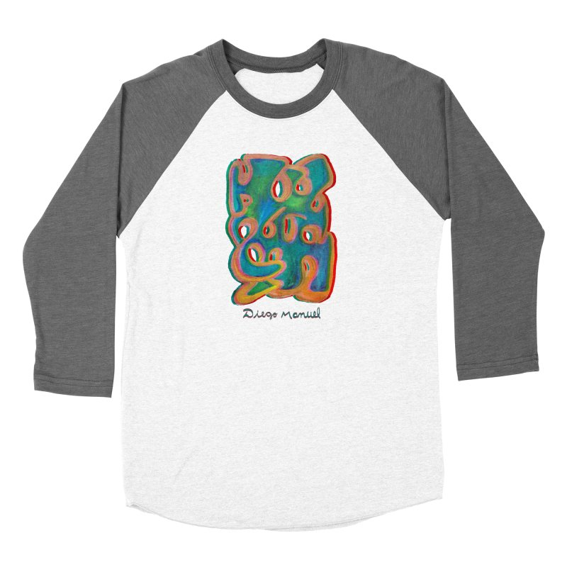 Pop graffiti 3d Women's Longsleeve T-Shirt by Diego Manuel Rodriguez Artist Shop