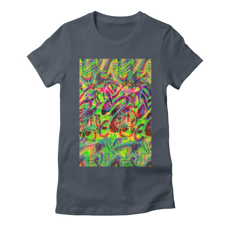 Shapes 18 2 Women's T-Shirt by Diego Manuel Rodriguez Artist Shop