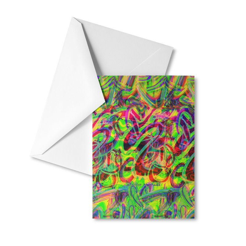 Shapes 18 2 Accessories Greeting Card by Diego Manuel Rodriguez Artist Shop