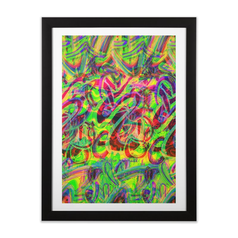 Shapes 18 2 Home Framed Fine Art Print by Diego Manuel Rodriguez Artist Shop
