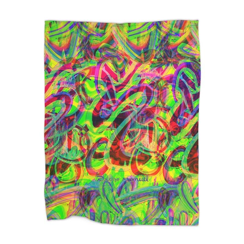 Shapes 18 2 Home Blanket by Diego Manuel Rodriguez Artist Shop
