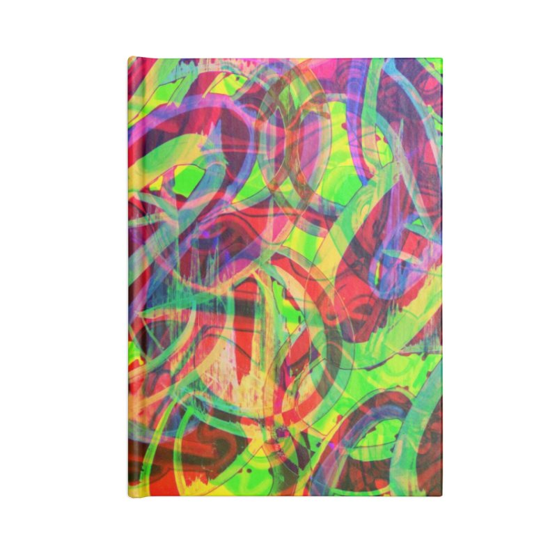 Shapes 18 2 Accessories Notebook by Diego Manuel Rodriguez Artist Shop