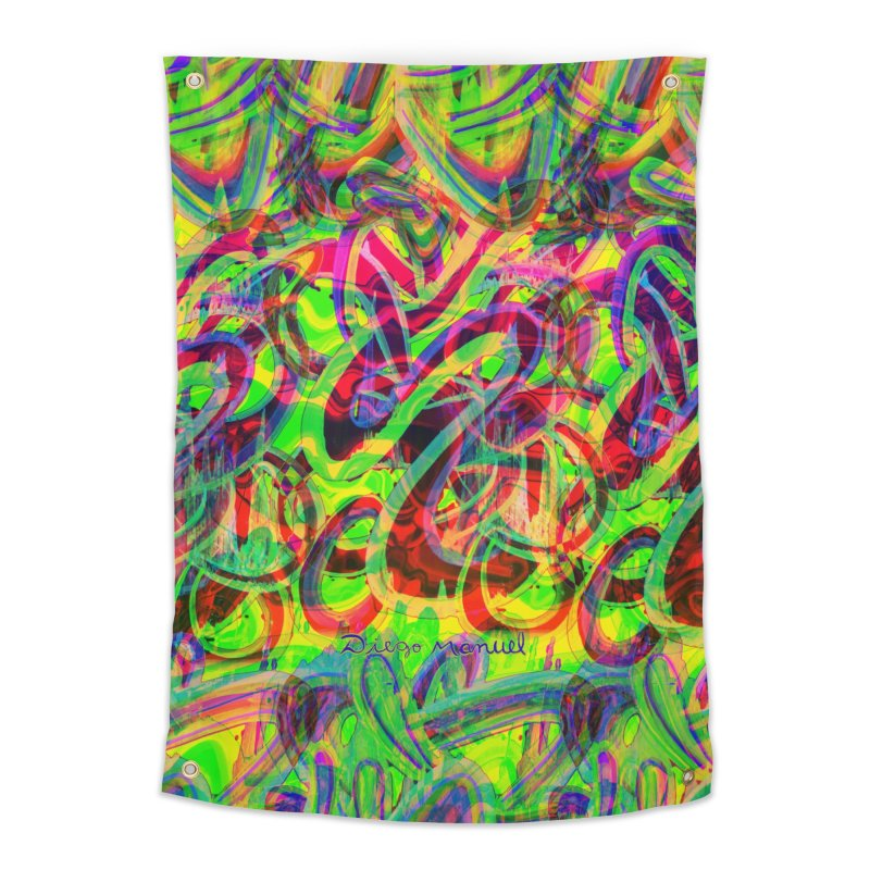 Shapes 18 2 Home Tapestry by Diego Manuel Rodriguez Artist Shop
