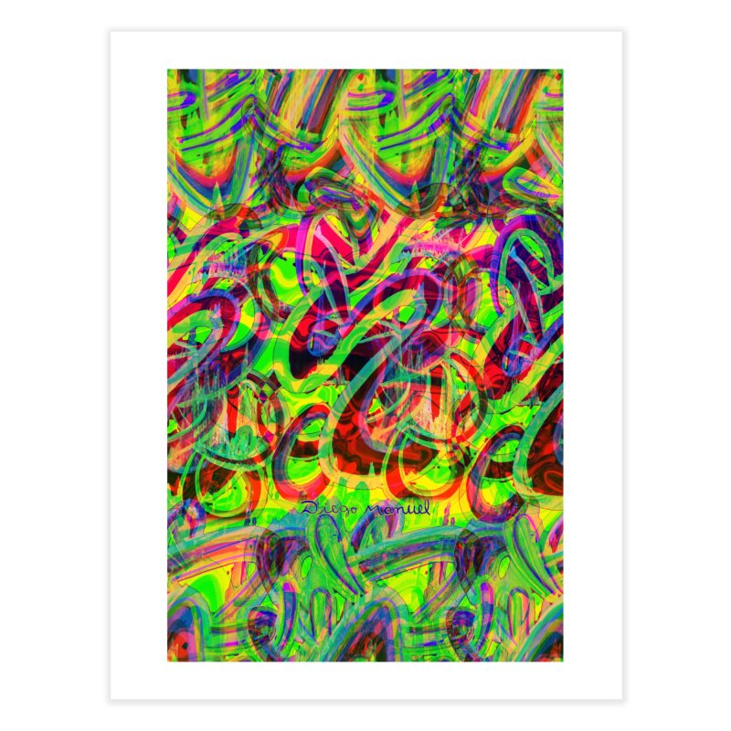 Shapes 18 2 Home Fine Art Print by Diego Manuel Rodriguez Artist Shop