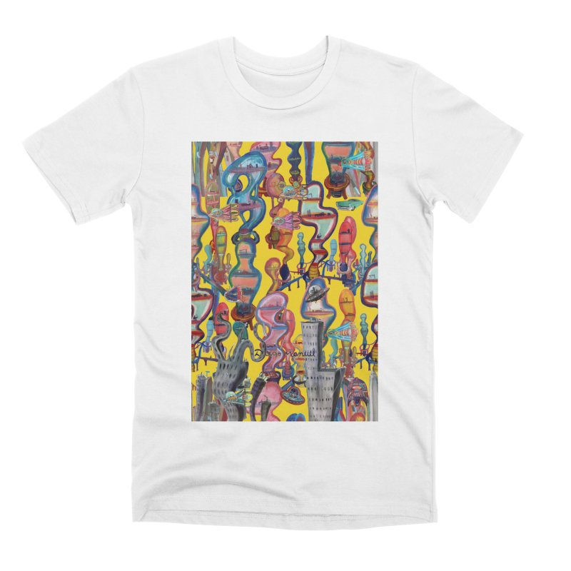 city 1 Men's T-Shirt by Diego Manuel Rodriguez Artist Shop