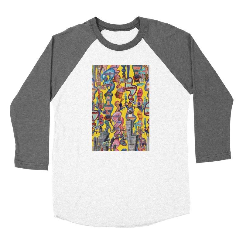city 1 Women's Longsleeve T-Shirt by Diego Manuel Rodriguez Artist Shop
