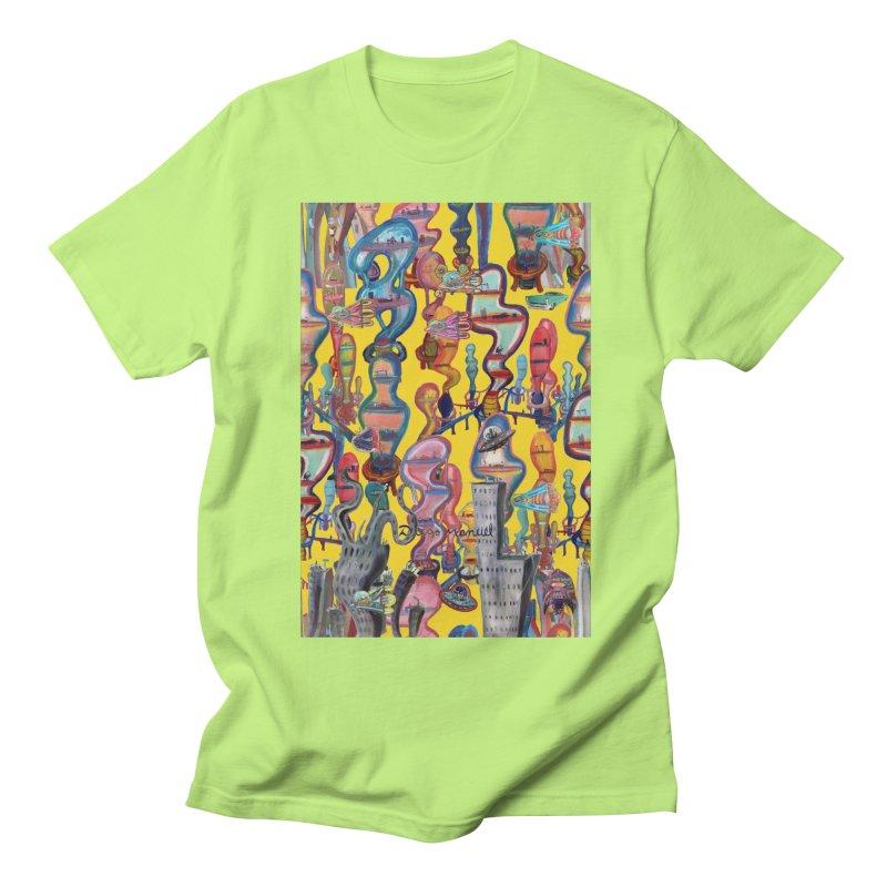 city 1 Men's T-Shirt by Diego Manuel Rodriguez Artist Shop