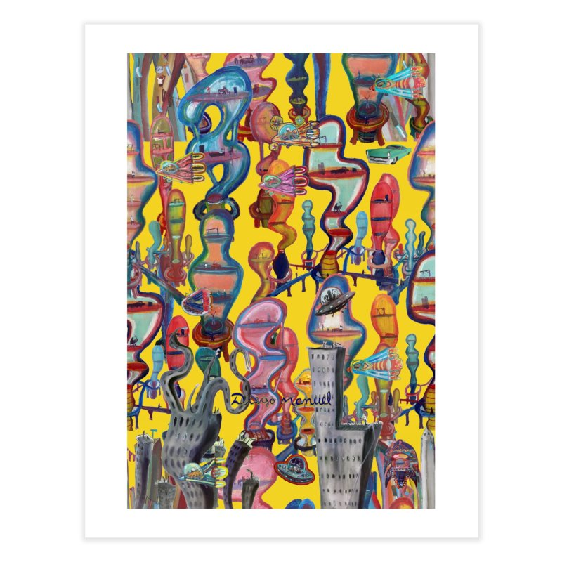 city 1 Home Fine Art Print by Diego Manuel Rodriguez Artist Shop