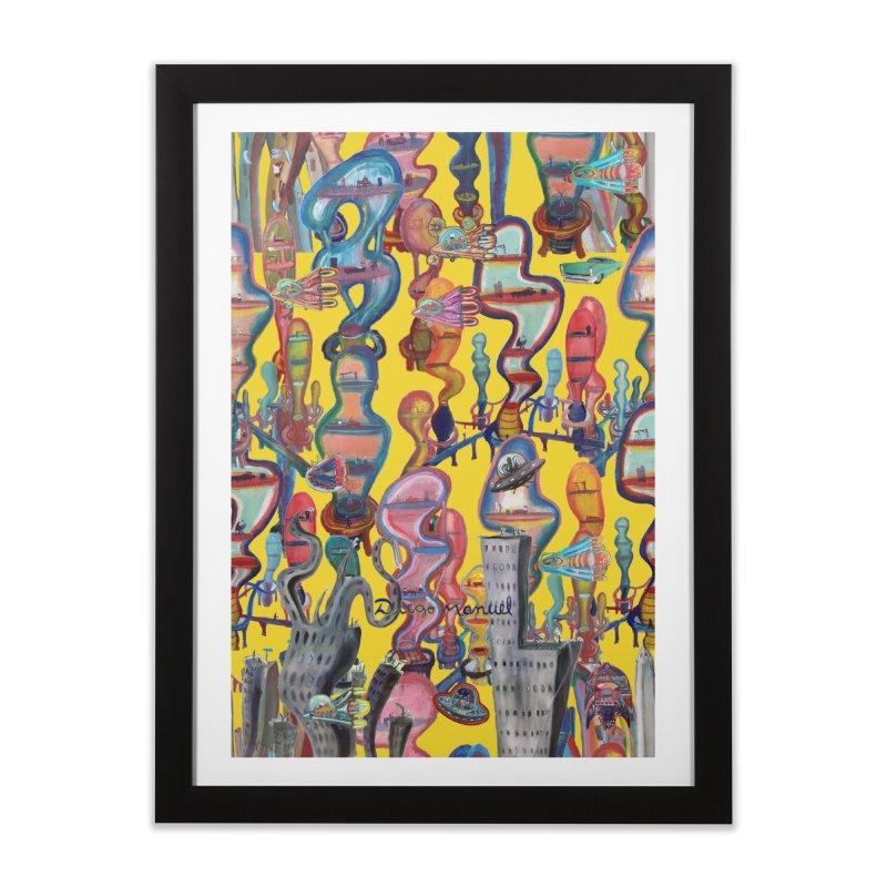city 1 Home Framed Fine Art Print by Diego Manuel Rodriguez Artist Shop