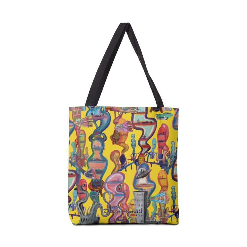 city 1 Accessories Bag by Diego Manuel Rodriguez Artist Shop